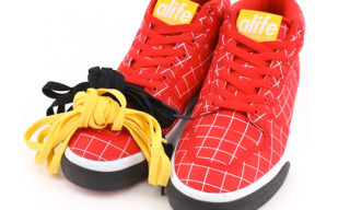 Alife Summer 2009 Everybody Mid Parachute Nylon Grid Pack