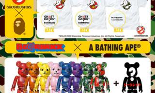 Bape x Ghostbusters & Bape x Medicom Toy Bearbricks