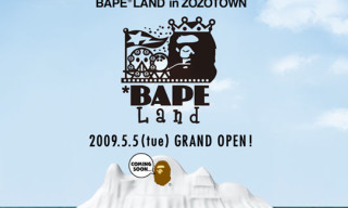 Bape Land To Open In Zozotown