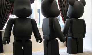 Comme Des Garcons Black Shop At DSM | Giant Bearbricks