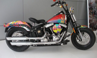 Damien Hirst For Harley Davidson