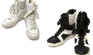 Diet Butcher Slim Skin Fall/Winter 2009 | Studded High Top Sneakers
