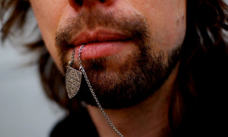 Edbanger Records Silver Necklace