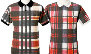 Fred Perry Limited Edition Digital Print Madras Polo Shirts