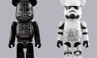 "Medicom Toy ""Darth Vader & Stormtrooper"" Bearbrick Double Pack"