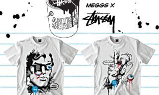 Meggs x Stussy Artist Series T-Shirts