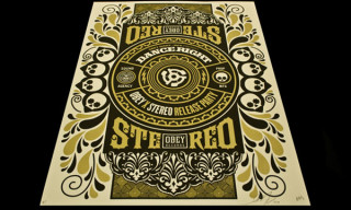Obey x Stereo | Posters & T-Shirts