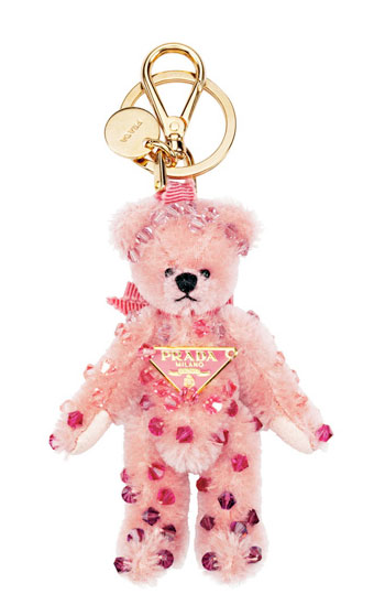 Prada Teddy Bear Key Chains | Highsnobiety