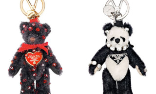 Prada Teddy Bear Key Chains