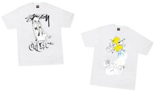 Stussy x GHOST T-Shirts