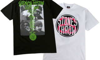 Stussy x Stones Throw T-Shirts Release