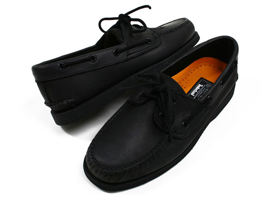 timberland boat shoes black