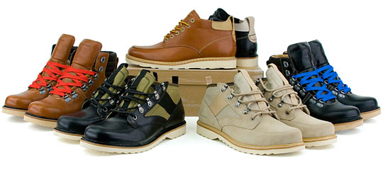 Timberland Spring 2009 Shoe Collection
