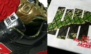 "UNDFTD x Hectic x Stussy ""Full Metallic Jacket"" | MT580 & T-Shirts"