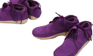 Visvim FBT Lattice | Purple Colorway