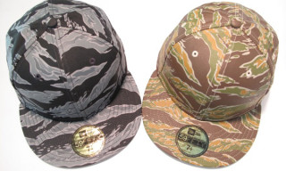 "10.Deep ""Big 10 Camo"" New Era Caps"