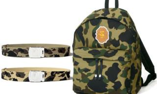 Bape Spring/Summer 2009 Collection   Camo Backpacks & Belts