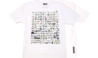 Cole Winston Moss x Staple T-Shirt & Print
