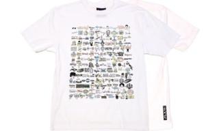 Cole Winston Moss x Staple T-Shirt & Print