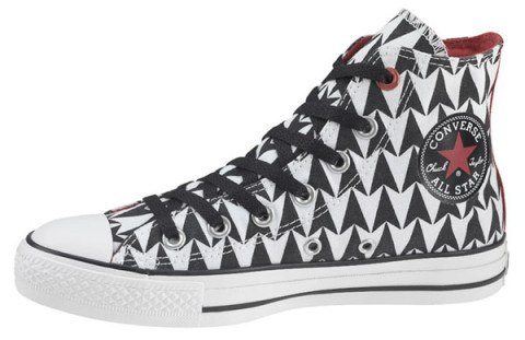 c89bf237b8a3 Edge of U2s design is one of 100 footwear styles from the Converse 1HUND(  RED