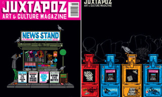 Juxtapoz Issue 101 | Cover Art By Grotesk