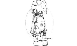 """Kaws x Hajime Soroyama """"Robot Companion"""" Preview"""