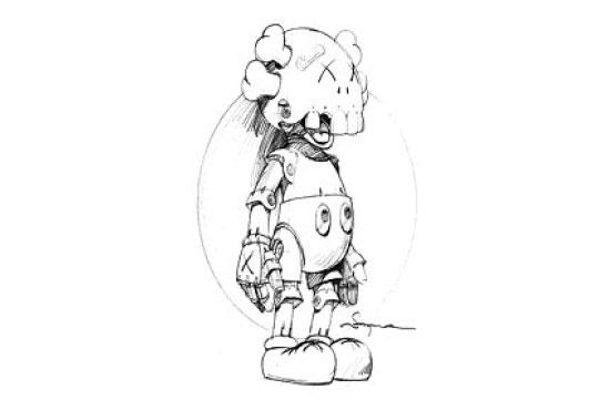 kaws x hajime soroyama  u0026quot robot companion u0026quot  preview