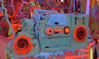 Kenny Scharf Studio Visit