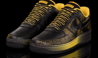 "Nike Air Force 1 ""Busy P. vs. So_Me"" 1World Livestrong Stages 