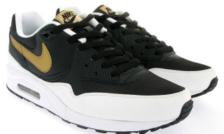 Nike Air Max Light | White/Metallic Gold/Black