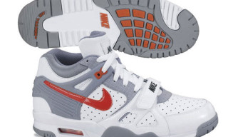 Nike Air Trainer 3 LE | White/Grey/Orange