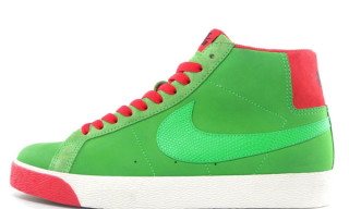 "Nike SB Fall 2009 Blazer Hi ""Green Spark"""
