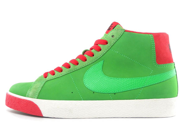 buy nike sb blazer high green