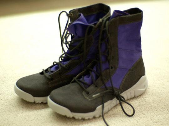 low priced b3b52 55a9f on sale Nike Sportswear SFB Boot Grey Purple Colorway Highsnobiety