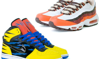 Nike Wolverine Vs. Sabretooth Pack | Big Nike Hi & Air Max 95