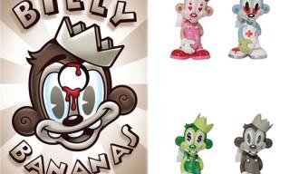 "Tristan Eaton ""Billy Bananas"" Show & Toy"