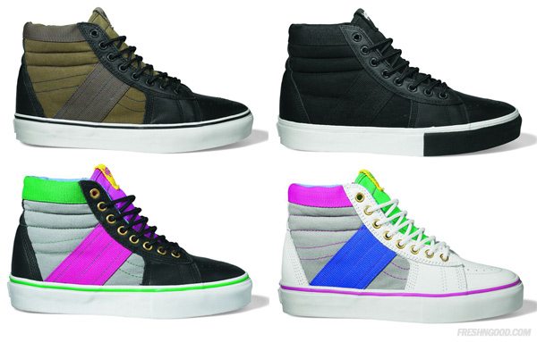 9022aac05683d3 delicate Vans Vault Fall 2009 Sk8 Hi Standard Issue LX Pack Highsnobiety