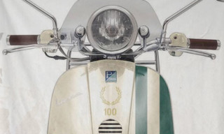 Vespa x Fred Perry 100th Anniversary