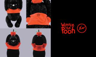 Winnie The Pooh x Medicom x Fragment Design by Hiroshi Fujiwara