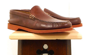 Yuketen For Woolrich Woolen Mills Venetian Slip-On