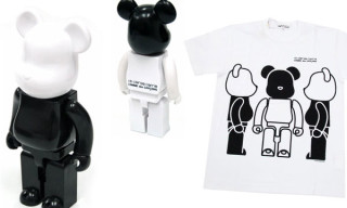 10 Corso Como x Comme des Garcons 7th Anniversary 400% Bearbricks And T-Shirts