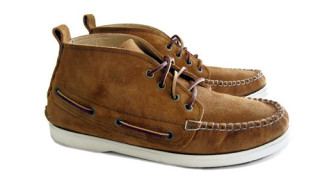 3sixteen x Quoddy Trail Deck Chukka