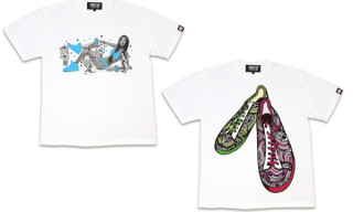 Kiks TYO Artist Series T-Shirts | Jor & Ikko The Torcida