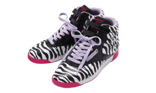"Milk Fed x Reebok Freestyle Hi ""Zebra"""