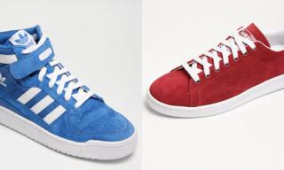 """adidas Originals Fall 2009 """"Suede"""" Collection"""