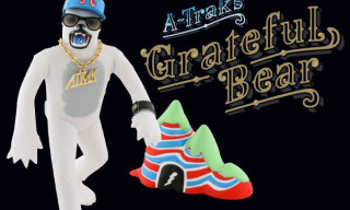 "A-Trak x Dust La Rock x Kidrobot ""Grateful Bear"" Toy"