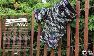Commonwealth x Billabong Board Shorts | Recycler Series