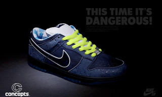 """Exclusive First Look   Concepts x Nike SB """"Blue Lobster"""" Dunk"""