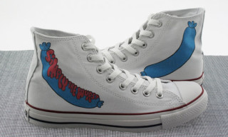 "Converse x Lodown x Parra ""Simply The Wurst"" Chuck Taylor Hi"