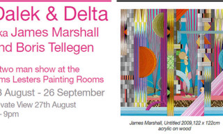 Dalek & Delta At Elms Lesters Painting Rooms London